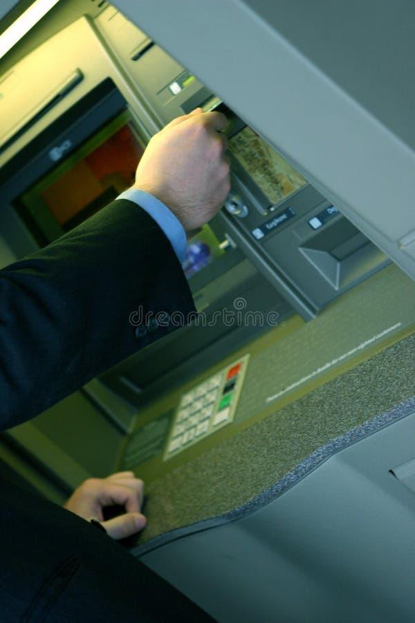 Affaires par la carte de crédit   images stock