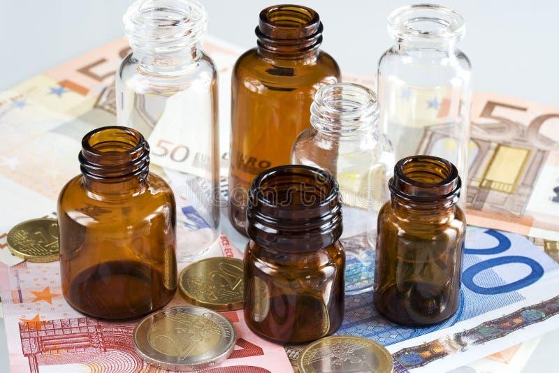 Affaires pharmaceutiques image stock