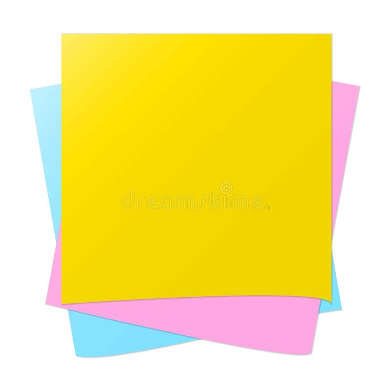 Affaires, pour, image, feuille, directeur, note, mémoire illustration stock