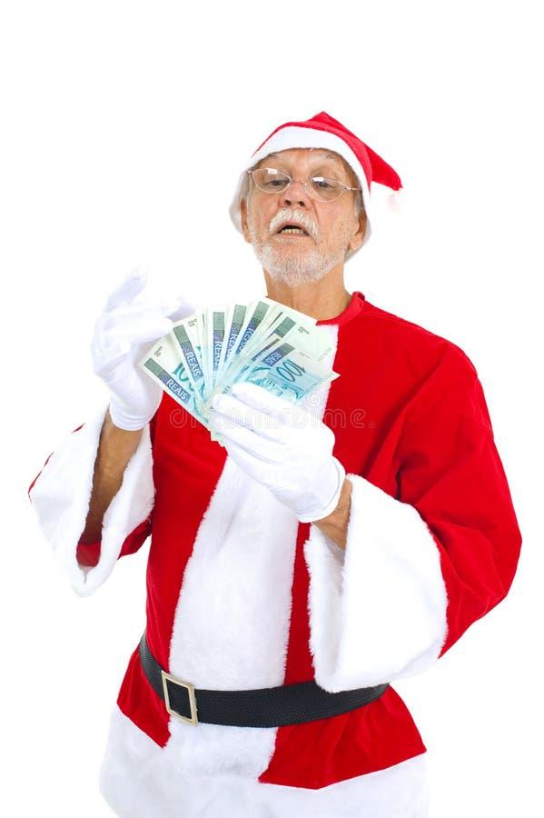 Affaires Santa photo stock