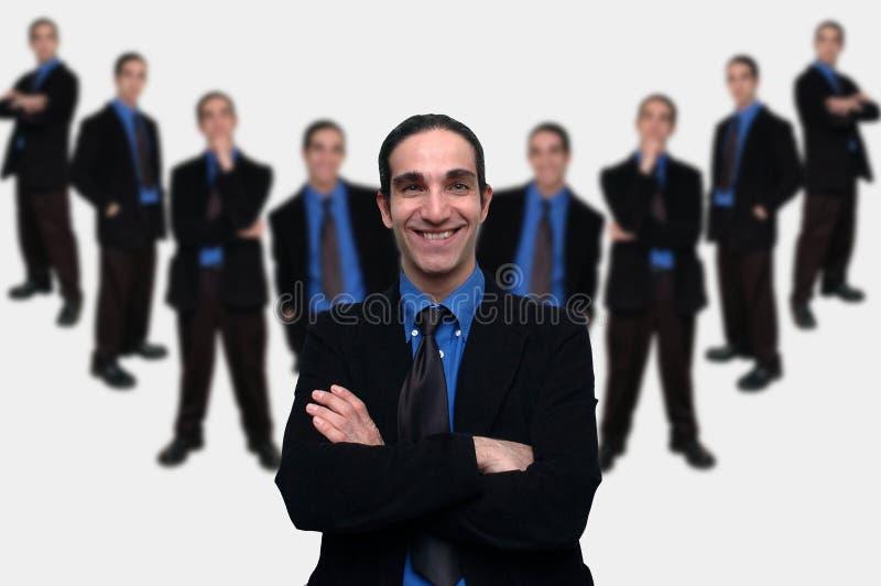 Affaires team-5 photo libre de droits