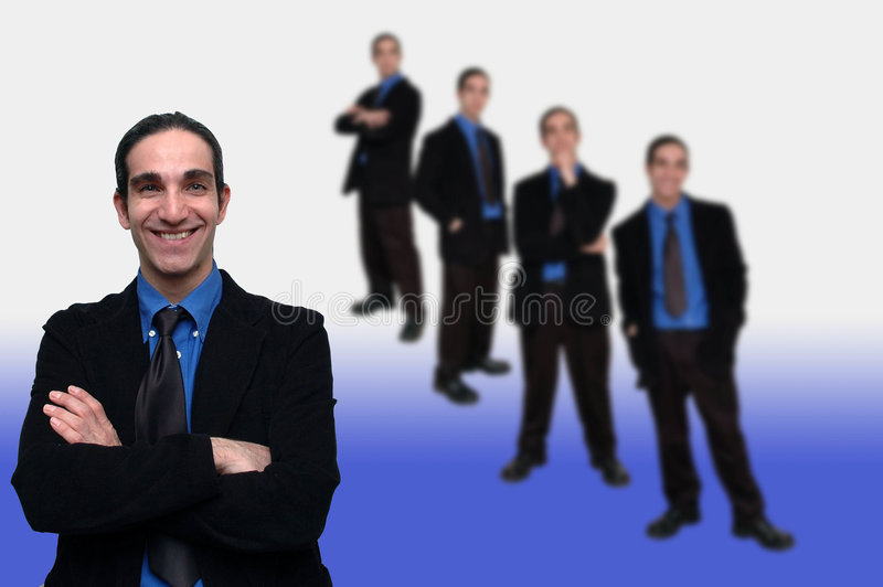 Affaires Team-6 Photos stock
