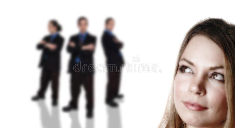 Affaires team-7 image libre de droits