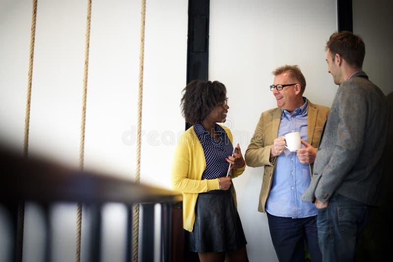 Affaires Team Coffee Break Relax Concept photos stock
