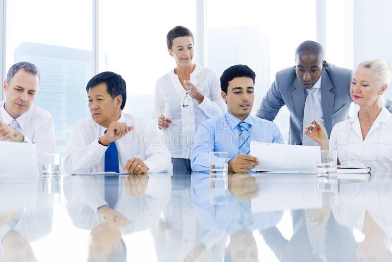 Affaires Team Meeting photos libres de droits