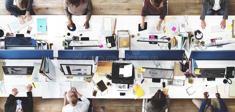 Affaires Team Meeting Project Planning Concept photographie stock libre de droits