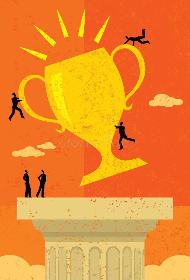 Affaires Team Success illustration stock