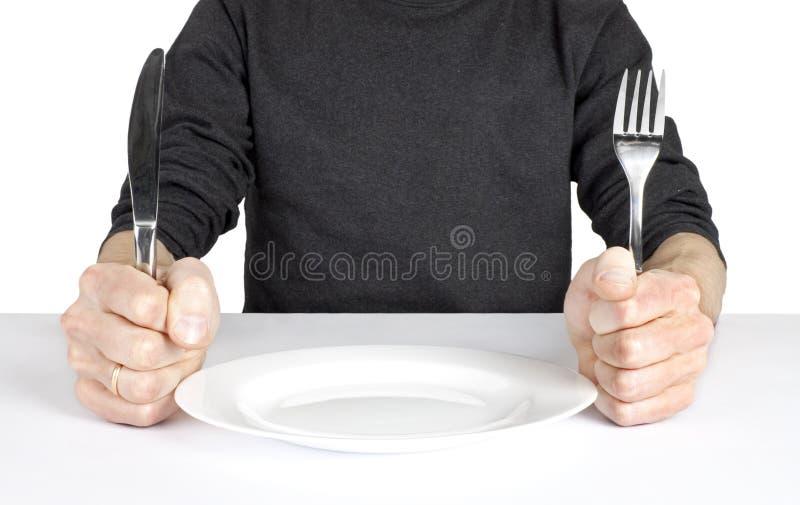 Affamé images libres de droits