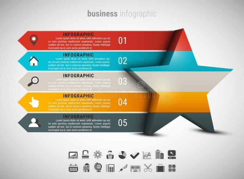 Affare creativo Infographic royalty illustrazione gratis