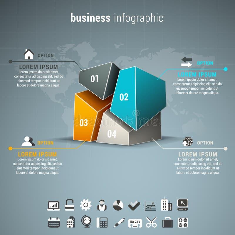 Download Affare Infographic illustrazione vettoriale. Illustrazione di scelta - 56876341