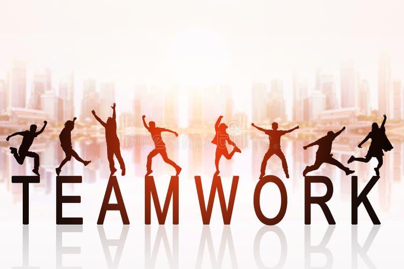 Affare Team Work Concept royalty illustrazione gratis