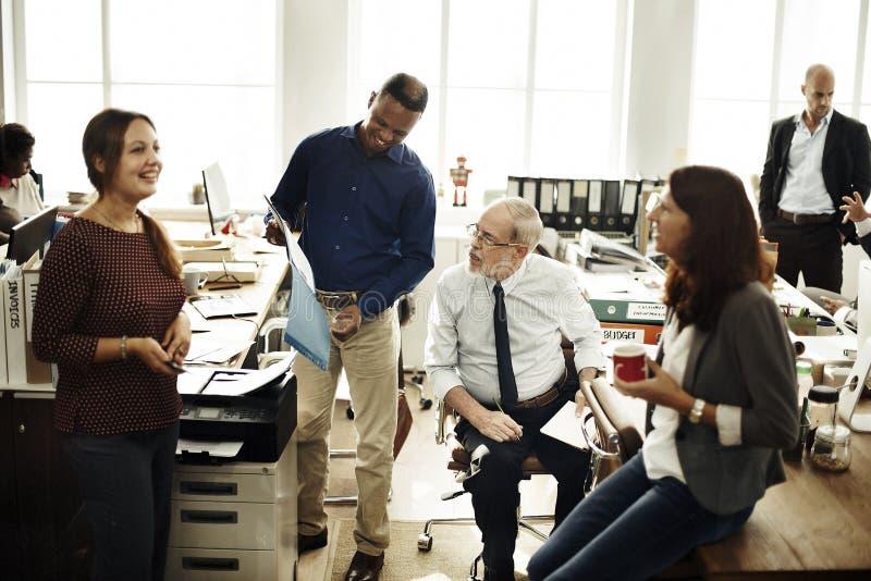 Affare Team Working Office Worker Concept immagini stock libere da diritti