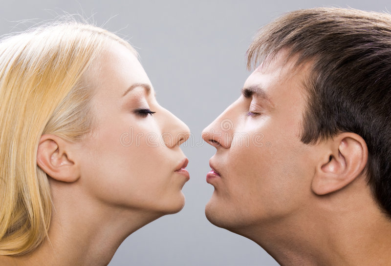 Download Affection stock image. Image of kiss, feeling, love, isolated - 7069533