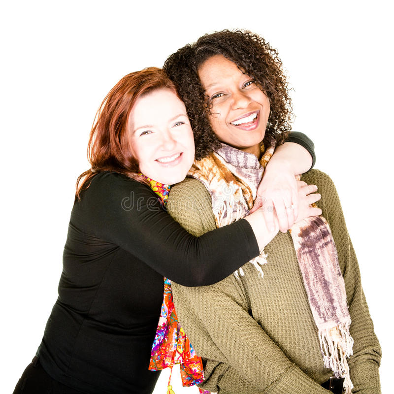 Affectionate Female Couple royalty free stock images