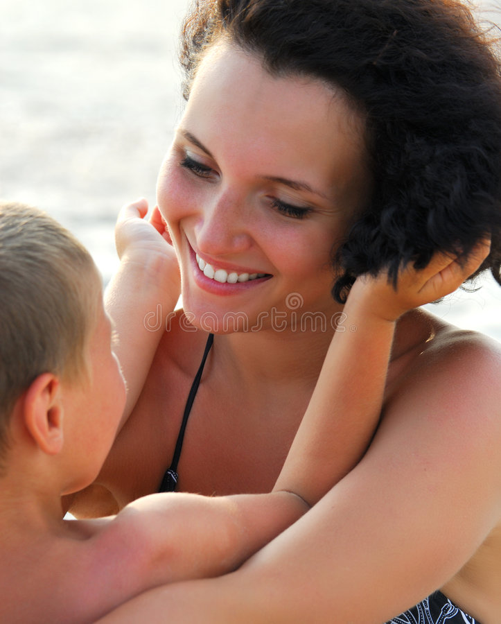 Affectionate mother