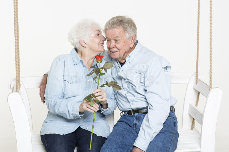 Download Affectionate Senior Couple Royalty Free Stock Photo - Image: 33487955
