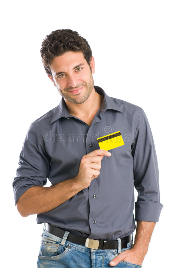 affektionkortkreditering arkivfoto