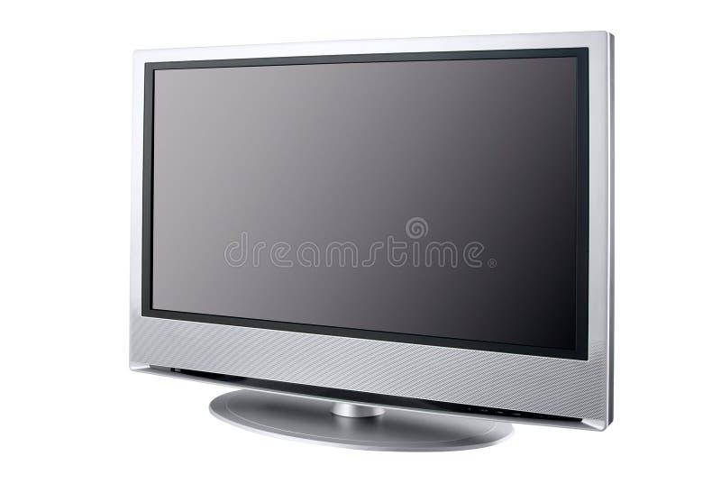 Affichage à cristaux liquides à extrémité élevé TV images libres de droits