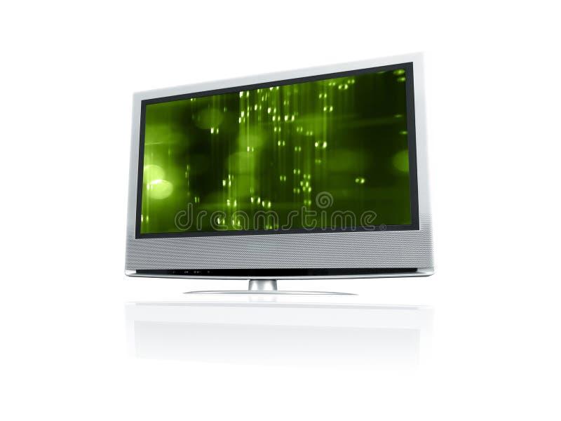 Affichage à cristaux liquides TV photo libre de droits