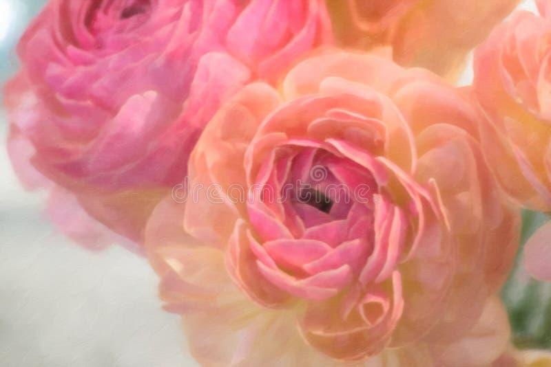 Affichage abstrait de fleur images stock