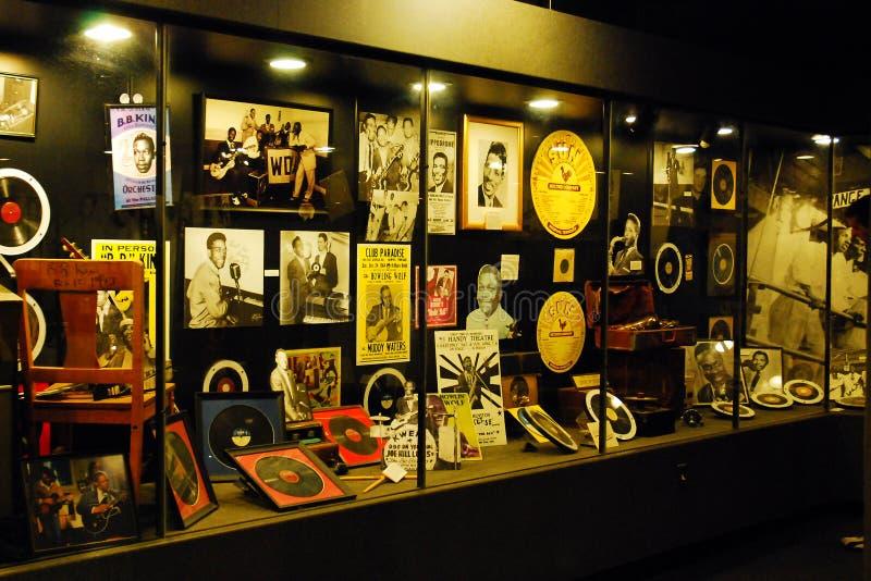 Affichage au musée de studios de Sun à Memphis photos libres de droits