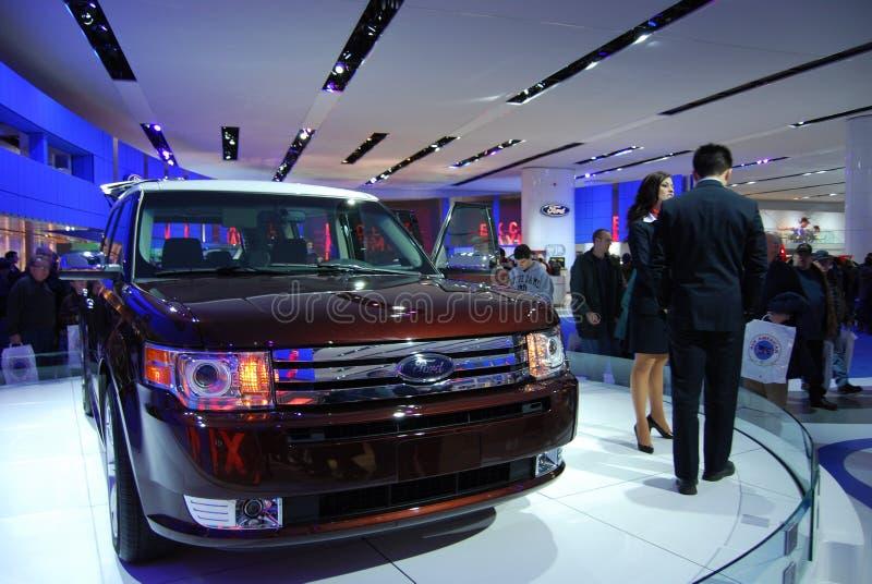 Affichage d'exposition automatique de Ford images libres de droits