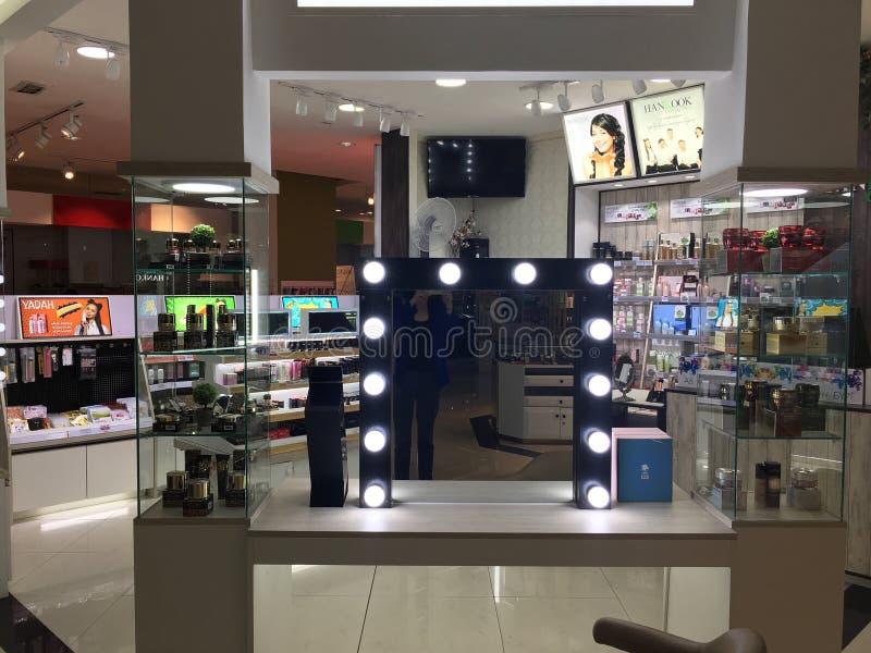 Affichage de centre commercial photo stock