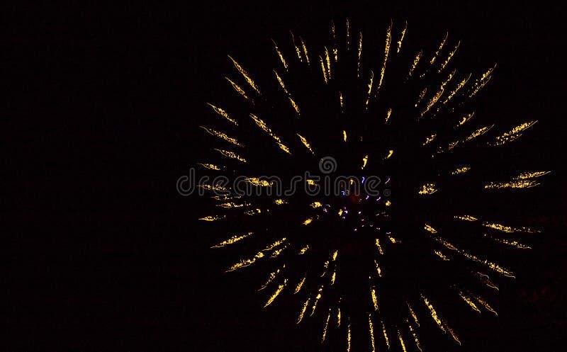 Affichage de feux d'artifice photo libre de droits