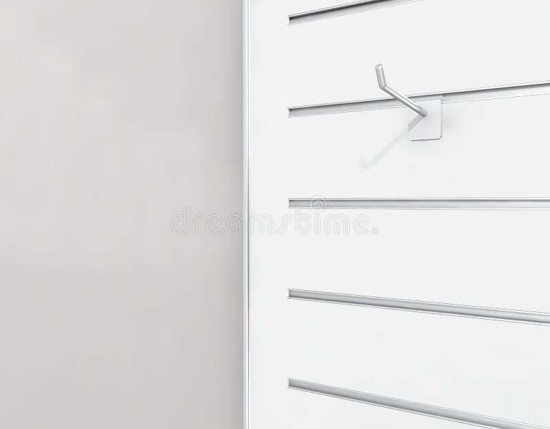 affichage de Lamelle-conseil avec le cheville-crochet images libres de droits