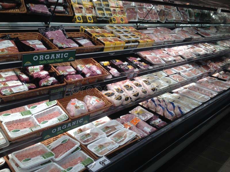 Affichage de magasin de nourriture image stock