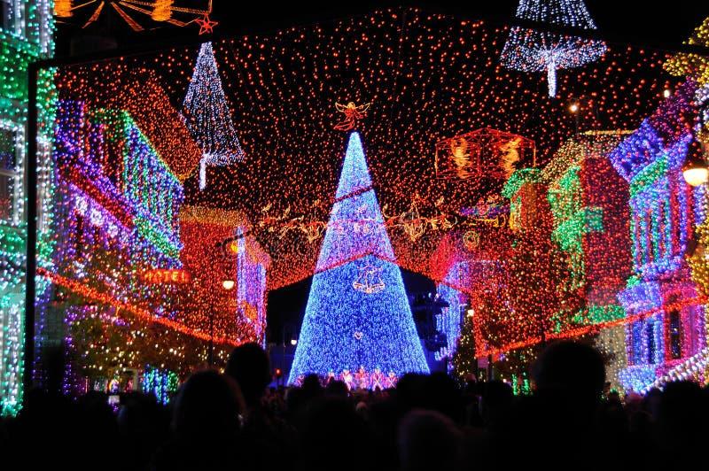 Affichage de Noël d'Osborne au monde de Walt Disney photographie stock libre de droits