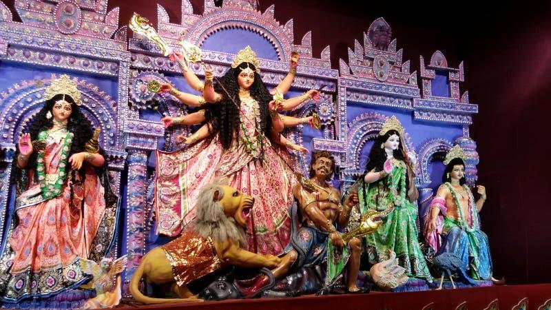 Affichage du festival ethnique et coloré de la panorama-Inde photographie stock libre de droits