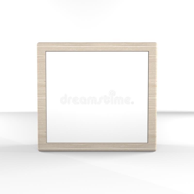 Affichage vide de boîte illustration de vecteur