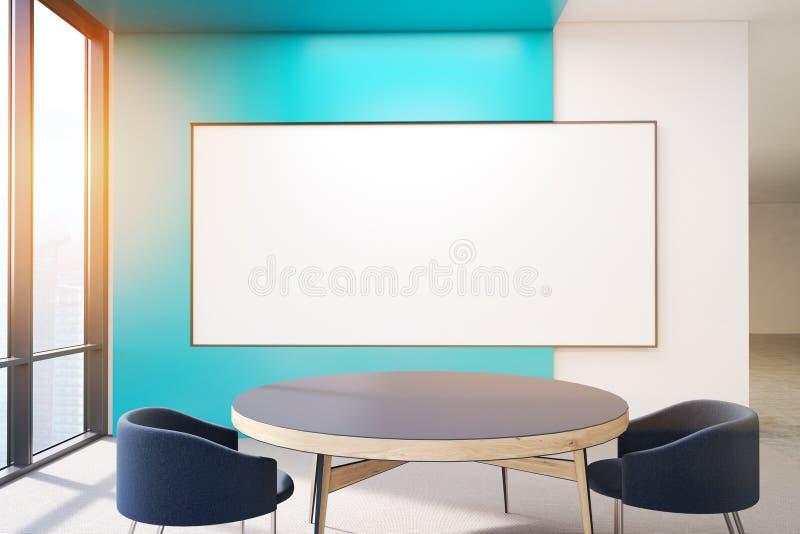 Download Affiche blanc sur le mur illustration stock. Illustration du patrimoine - 87700131