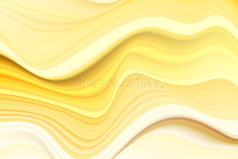Affiche color?e moderne d'?coulement Fond liquide de couleur de forme de vague Conception d'art pour votre projet de conception I illustration libre de droits
