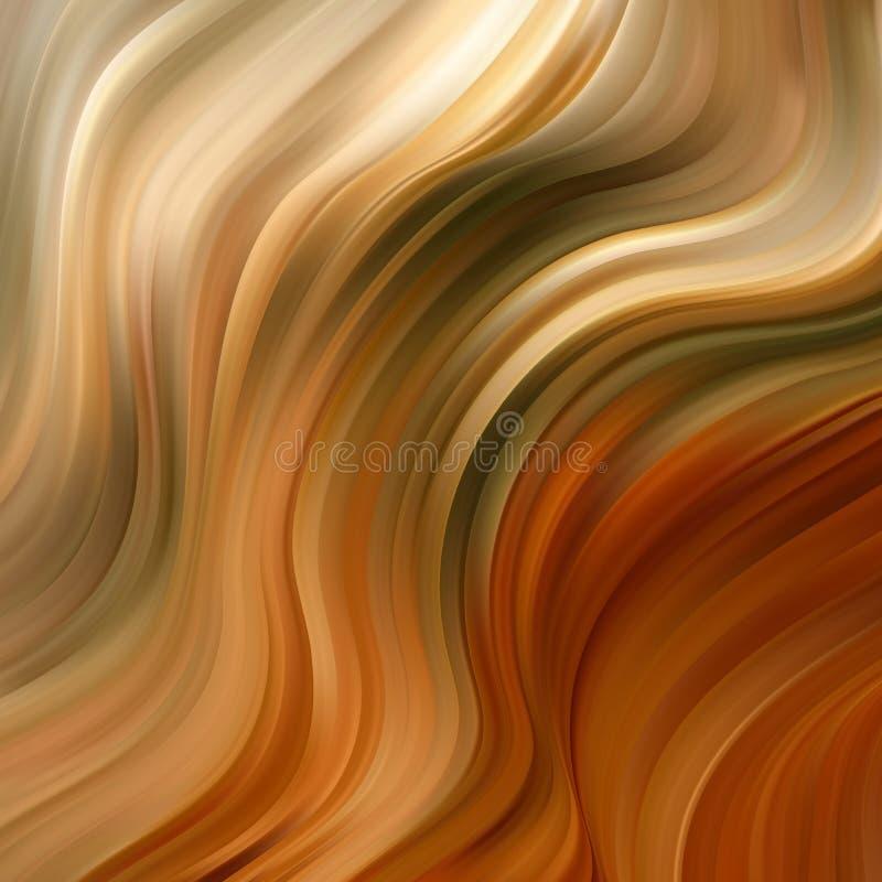 Affiche color?e moderne d'?coulement onde Fond liquide de couleur de forme Conception d'art pour votre projet de conception illustration libre de droits