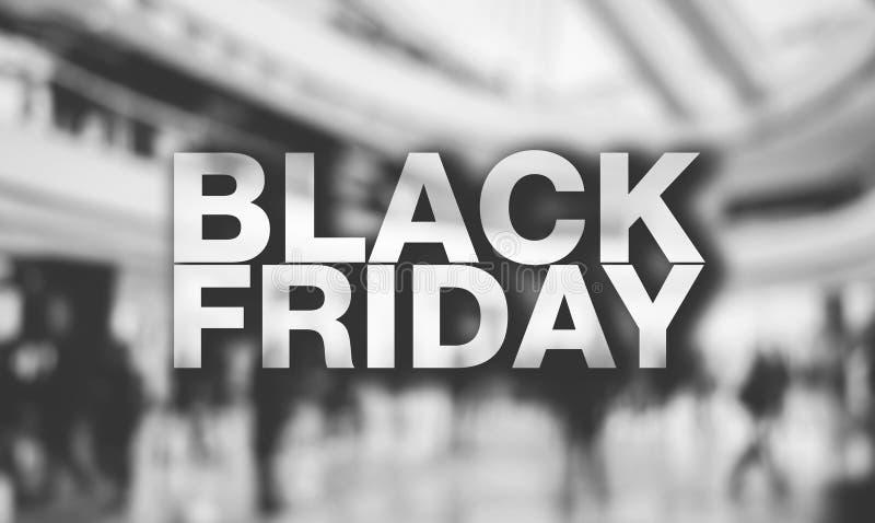 Affiche de Black Friday photo stock