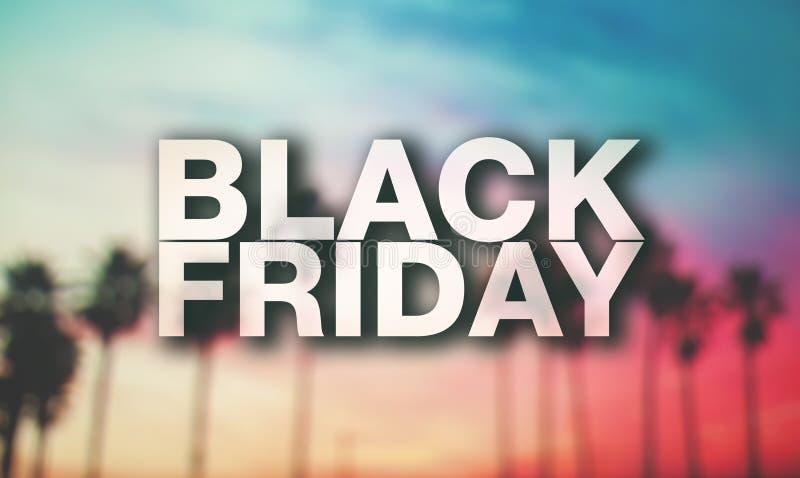 Affiche de Black Friday image libre de droits