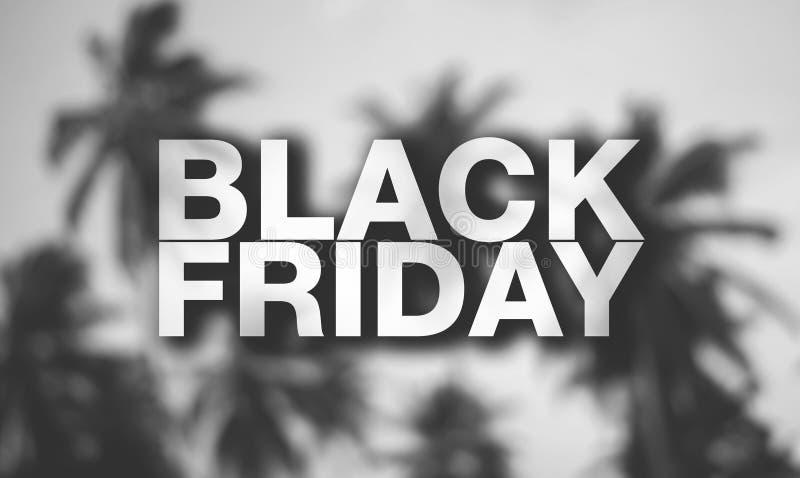 Affiche de Black Friday photos libres de droits