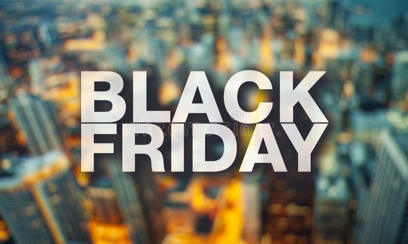 Affiche de Black Friday photographie stock libre de droits