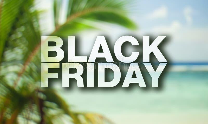 Affiche de Black Friday photo libre de droits