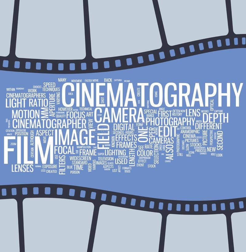 Affiche de cinéma illustration de vecteur