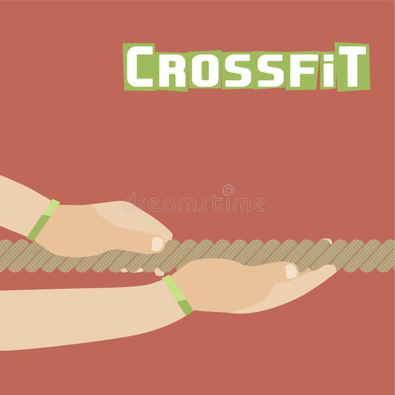 Affiche de Crissfit illustration libre de droits