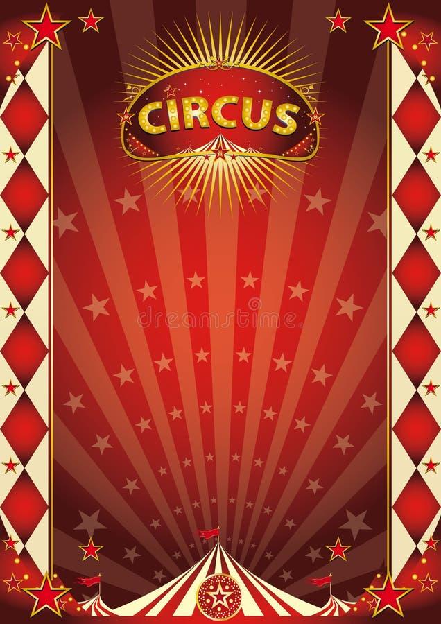 Download Affiche De Losange De Vintage De Cirque Image stock - Image du fête, anniversaire: 45350989