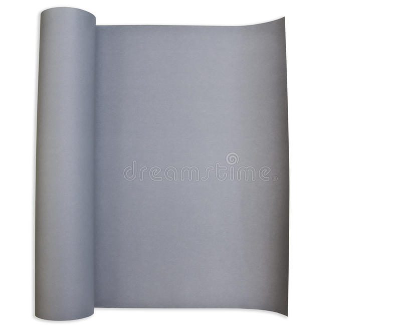 Affiche de papier grise photo stock