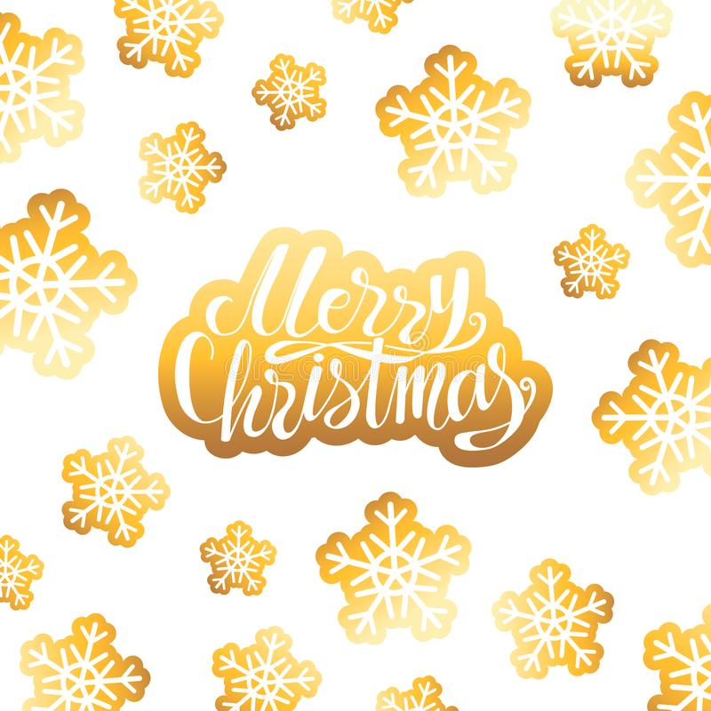 Affiche de vacances de Noël illustration libre de droits