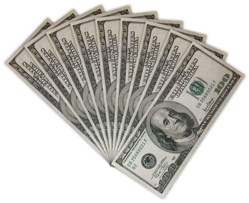 affiche le dollar cent photo stock
