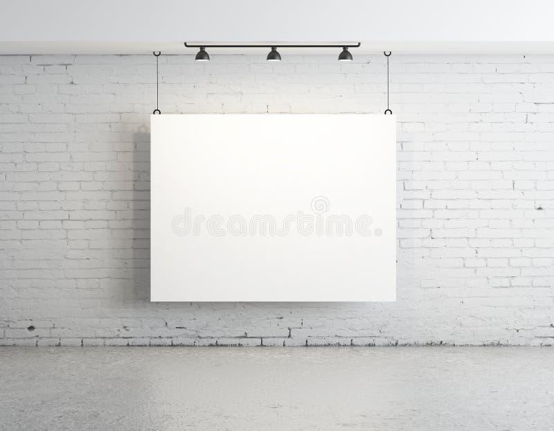 Affiche op muur royalty-vrije stock foto