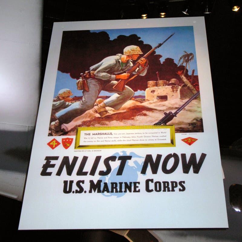 Affiche promotionnelle images libres de droits