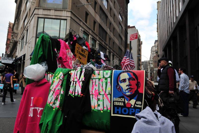 Affiche van Barack Obama royalty-vrije stock fotografie